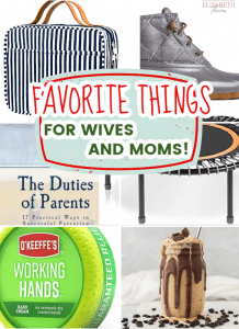 favorite thing for wives and moms