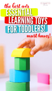 Toddler learning toy