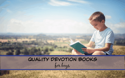 Quality Devotion books for Boys!