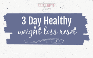 3 day healthy weight loss plan