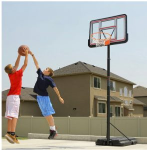 basketball goal outdoor toy for kids