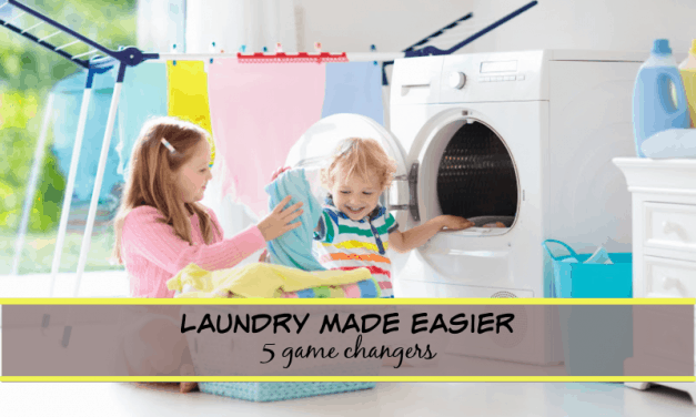 Laundry Made Easier (5 Game changers)