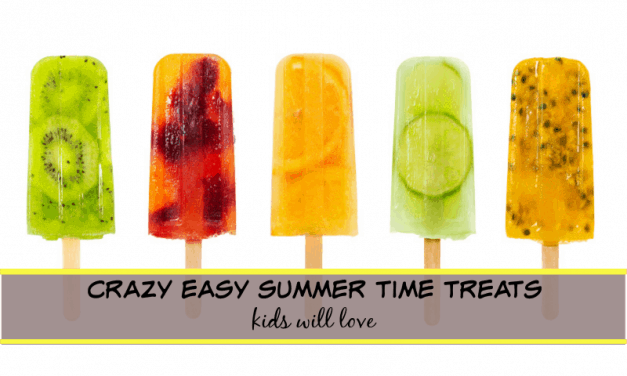 Crazy Easy Summer Time Treats that kids will love (printable recipes)!