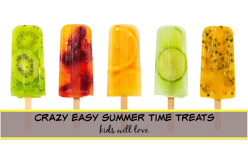 easy summer time treats for kids
