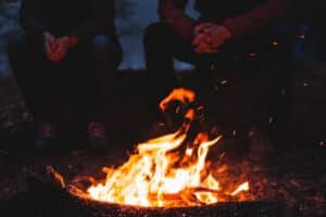 fall bonfire for teens