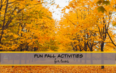 21 FUN Fall Activities for TEENS (Absolute BEST things to do in Autumn in 2021)